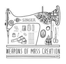 Bianca Green, Weapons Of Mass Creation - Sewing (Deutschland, Europa)