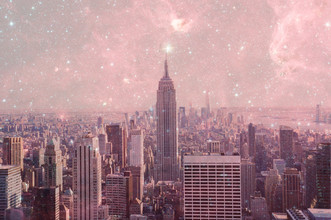Stardust Covering New York - fotokunst von Bianca Green