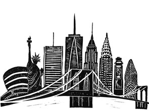 Bianca Green, Linocut New York (United States, North America)