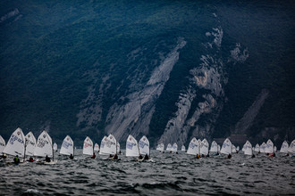 Sebastian Rost, Lake Garda Meeting Optimist (Italien, Europa)