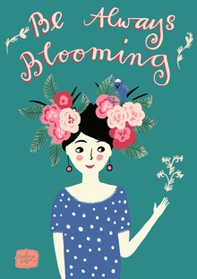 Constanze Guhr, be always blooming (Germany, Europe)
