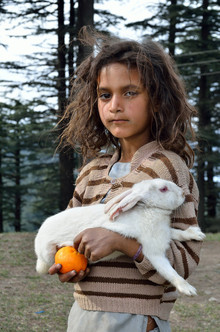 Fotosas Photography, The Village Girl (India, Asia)