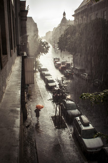 Neukoelln_rain - Fineart photography by Florian Büttner