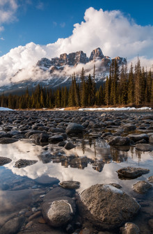 Christoph Schaarschmidt, castle mountain (Canada, North America)