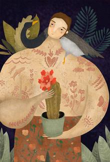 Amalia Restrepo, WILD GEESE MAN (Kolumbien, Lateinamerika und die Karibik)