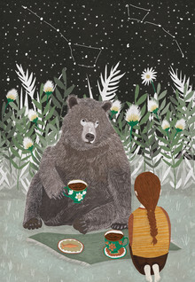 Amalia Restrepo, BEAR TEA TIME (Colombia, Latin America and Caribbean)