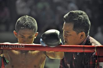 Thomas Heinrich, Muay Thai with coach (Thailand, Asia)