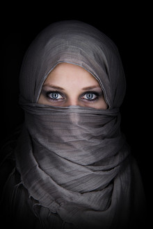 Stefan Balk, veiled woman (Germany, Europe)