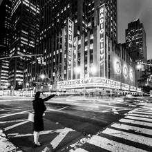 RADIO CITY - NYC - fotokunst von Christian Janik