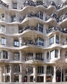 Roc Isern, Organic forms of Gaudí (Spain, Europe)