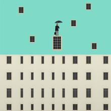 Caterina Theoharidou, Rene Magritte grid (Italy, Europe)