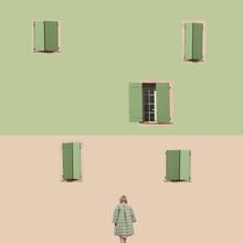 Caterina Theoharidou, Pastel Grid (Italien, Europa)