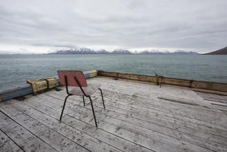 Lost Place: Alter Hafen, Spitzbergen - fotokunst von Jens Rosbach