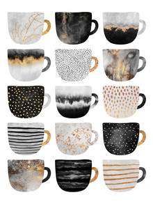 Elisabeth Fredriksson, Pretty Coffee Cups 3 (Sweden, Europe)