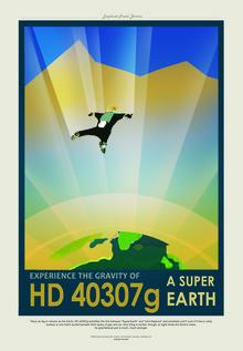 Nasa Visions, HD 40307g, A Super Earth (United States, North America)