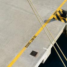Igor Krieg, rope at the pier (Amerikanische Jungferninseln, Lateinamerika und die Karibik)
