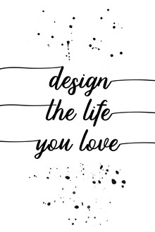 Melanie Viola, TEXT ART Design the life you love (Germany, Europe)