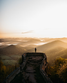 Steven Ritzer, Epic morning view from Wegelnburg (Germany, Europe)