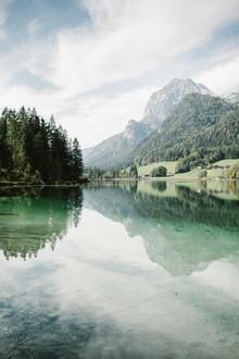 Steven Ritzer, Fantastischer Blick über den Hintersee (Deutschland, Europa)