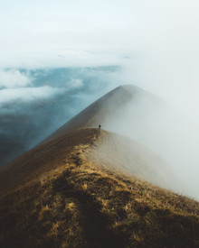 Philipp Heigel, FOGGY RIDGE WALKS. (Switzerland, Europe)