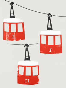 Fox And Velvet, Barcelona Cable Cars (United Kingdom, Europe)
