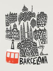 Fox And Velvet, Barcelona Cityscape (United Kingdom, Europe)