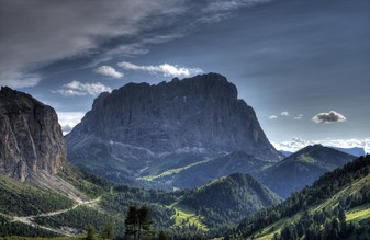 Langkofel - Fineart photography by Björn Groß