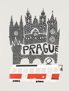 Fox And Velvet, Prague Cityscape (Czech Republic, Europe)