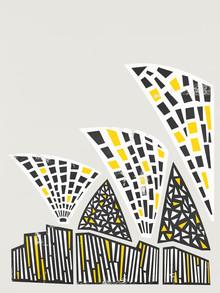 Fox And Velvet, Abstract Sydney Opera House (United Kingdom, Europe)