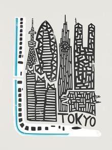 Fox And Velvet, Tokyo Cityscape (United Kingdom, Europe)
