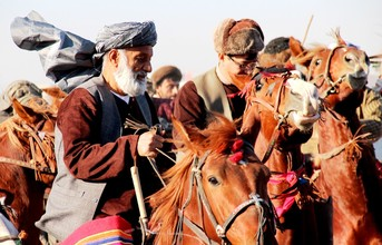 Ruth Halle, Buzkashi Impression (Afghanistan, Asia)