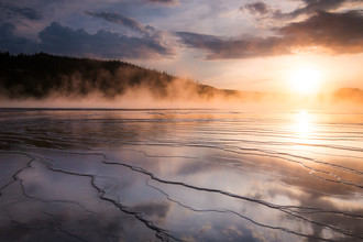 Christoph Schaarschmidt, grand prismatic spring (United States, North America)