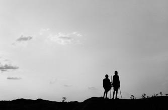 Victoria Knobloch, 2 Hirtenjungen in Karamojong (Uganda, Afrika)
