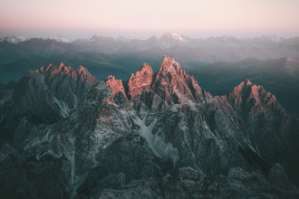 Johannes Höhn, First Light upon the Dolomites. (Italy, Europe)