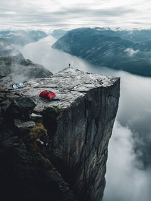 preikestolen my heart - Fineart photography by Leo Thomas