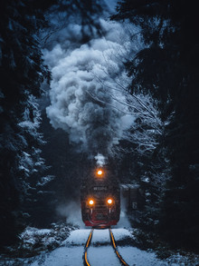 Last Train Home - Fineart photography by Maximilian Fischer