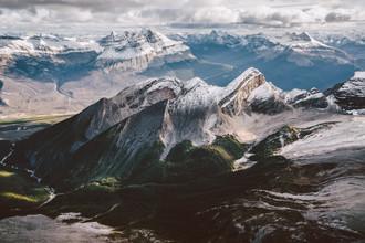 Roman Königshofer, Hoch ueber den Rocky Mountains (Kanada, Nordamerika)