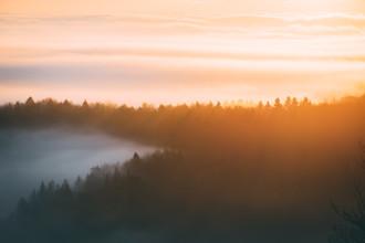Morgenstimmung - fotokunst von Patrick Monatsberger