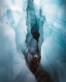 Asyraf Syamsul, Blue Heart of Glacier (Iceland, Europe)