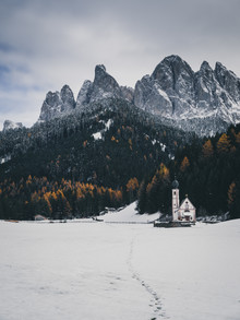 Val di Funes - Fineart photography by Silvio Bergamo