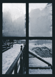 Silvio Bergamo, The window on the lake (Italy, Europe)