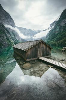Patrick Monatsberger, Boathouse by the lake (Germany, Europe)