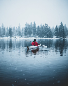 Luca Jaenichen, Paddling in the Winter (Germany, Europe)