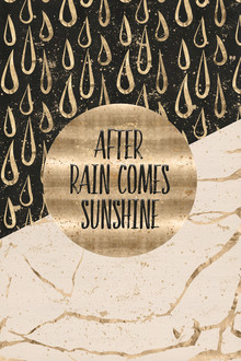 Melanie Viola, GRAPHIC ART After rain comes sunshine (Deutschland, Europa)