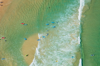 Green Bondi Swell - Fineart photography by Cyril Cayssalie