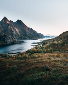 Frederik Schindler, Herbst auf den Lofoten (Norwegen, Europa)