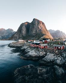 Frederik Schindler, Sonnenaufgang über Hamnøy (Norwegen, Europa)