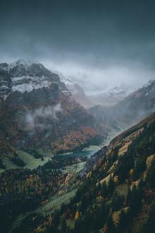 Dorian Baumann, Der alpine Herbst (Schweiz, Europa)