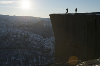 Lars Jacobsen, Preikestolen (Norway, Europe)