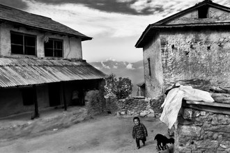 Shalav Rana, Rural Nepal (Nepal, Asien)